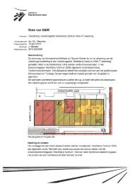 Vaststelling uitwerkingsplan Hoofddorp Centrum 2000 2e uitwerking