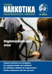 5-2012 - Svenska Narkotikapolisföreningen
