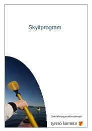 Skyltprogram - Tyresö kommun