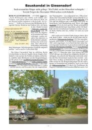 Bauskandal in Giesensdorf - khd-Blog
