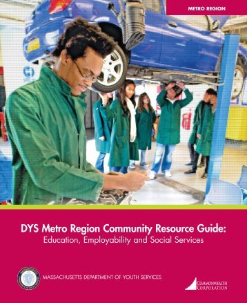 DYS Metro Region Community Resource Guide - The ...