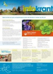 Infokrant juni 2013 - Gemeente Herent