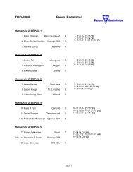 Farum Badminton DJO-2009