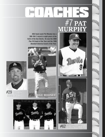 #7PAT MURPHY - Arizona State Sun Devils