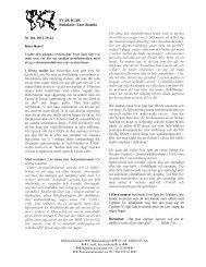 Nr 166. V 42 2012 - Infektion.net