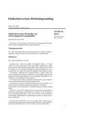 elsäk-fs 2007:1 - Elsäkerhetsverket