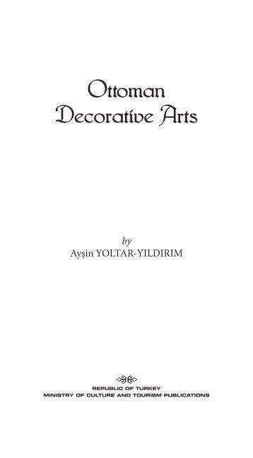Ottoman Decorative Arts - TEDA