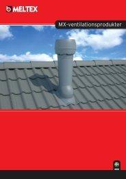 MX-ventilationsprodukter - Meltex Oy Plastics
