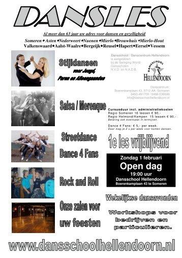 Open dag - Dansschool Hellendoorn