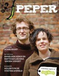 Peper online raadplegen - Jong Groen
