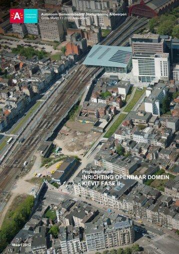inrichting openbaar domein kievit fase ii - AG Stadsplanning ...