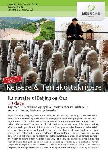 Kejsere & Terrakottakrigere - Jysk Rejsebureau