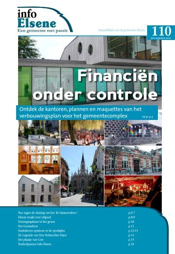 Financiën onder controle - Elsene
