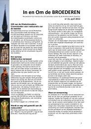 Restauratienieuwsbrief nr 15 - Heilige Lebuinus