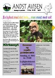 Andst Avisen uge 23 2013