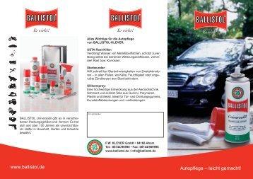 Autopflege - Faak - Tillmanns UG