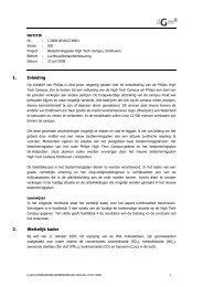 1. Inleiding 2. Wettelijk kader - gemeente Eindhoven