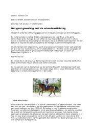 nummer 1, september 2011 - manegevrienden.nl