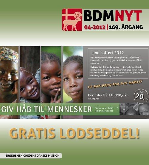 nr. 4/2012 - Brødremenighedens Danske Mission
