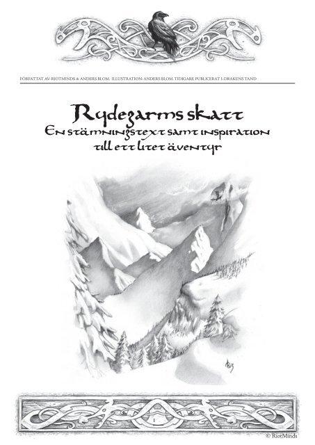 Rydegarms skatt.indd - Riotminds