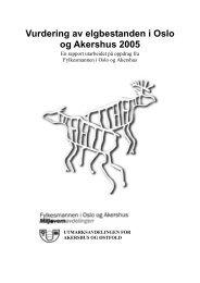 jakten 2005 - Utmarksavdelingen Akershus og Østfold