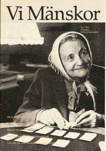 1994/1 - Vi Mänskor