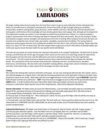 tim lahaye temperament test pdf