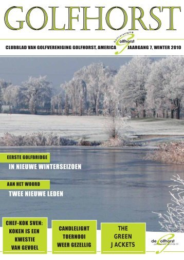 THE GREEN JACKETS - Golfvereniging Golfhorst