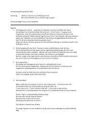 Verslag vergadering 28 april 2011 Aanwezig - Basisschool Heilig ...