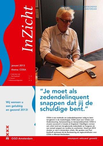 SSGA InZicht januari 2013 - GGD Amsterdam