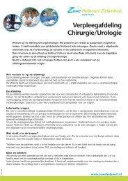 15131156_Chirurgie-urologie (vroeger orthopedie):Internet ... - Zuwe