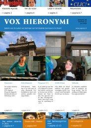 VOX April 2009 - USG Vox