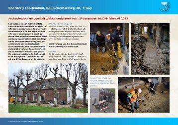 Lees meer - Archeologie Houten