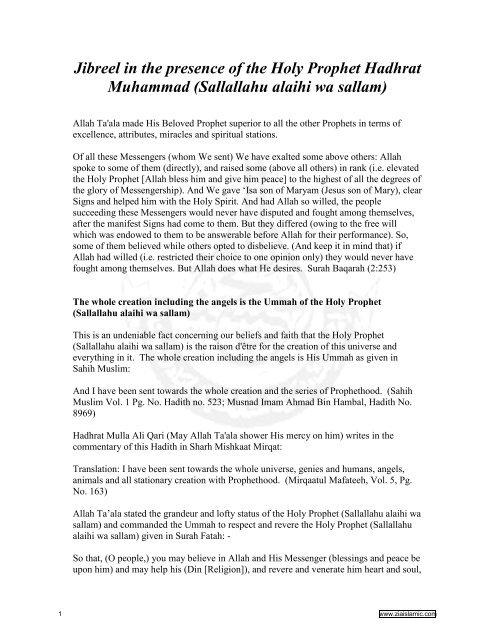 Download Book in pdf - Ziaislamic com