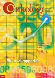 ASCO 2009 Från idé till klinik KI:s innovations - Onkologi i Sverige
