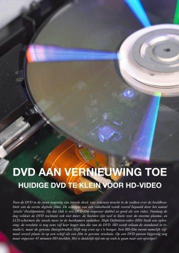 DVD aan vernieuwing toe (.pdf - 3,6MB) - Steven Bloemen