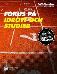 fokus på idrott oCH studiEr - Västerås stad