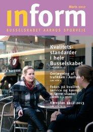 Inform 268 - marts 2012 - Busselskabet Århus Sporveje