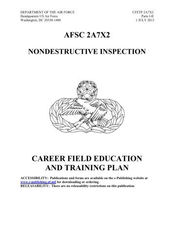 afsc 3d1x1 client systems career field education and ... - Air ...