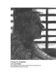 Fångarna, fängelset och samhället - Kriminalvården