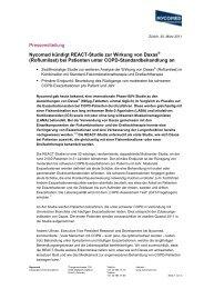 (Roflumilast) bei Patienten unter COPD-Standardbehandlung a