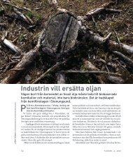 Industrin vill ersätta oljan - Plast- & Kemiföretagen