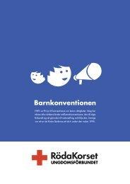 Barnkonventionen - Röda Korsets Ungdomsförbund