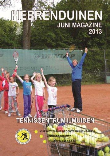CLUBBLAD mei 2013 - LTC De Heerenduinen