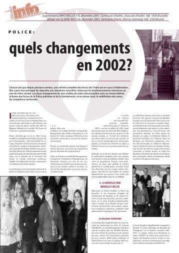 Supplément Info Ixelles Elsene bijlage n°6