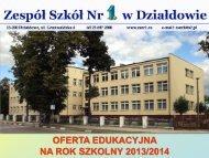 Zobacz prezentację naszej szkoły - ZSNr1