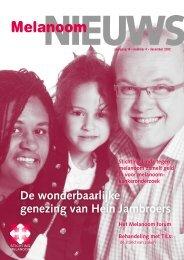 Melanoomnieuws nr 4 2012.pdf - Stichting Melanoom - Nfk