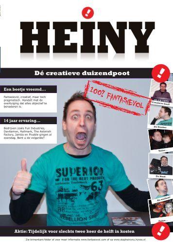 folder - HEINY! Creatieve duizendpoot!