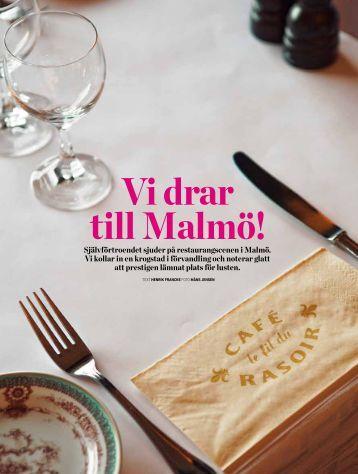 Vi drar till Malmö! - Gourmet