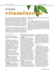 vitaminerna - Crohn ja Colitis ry.
